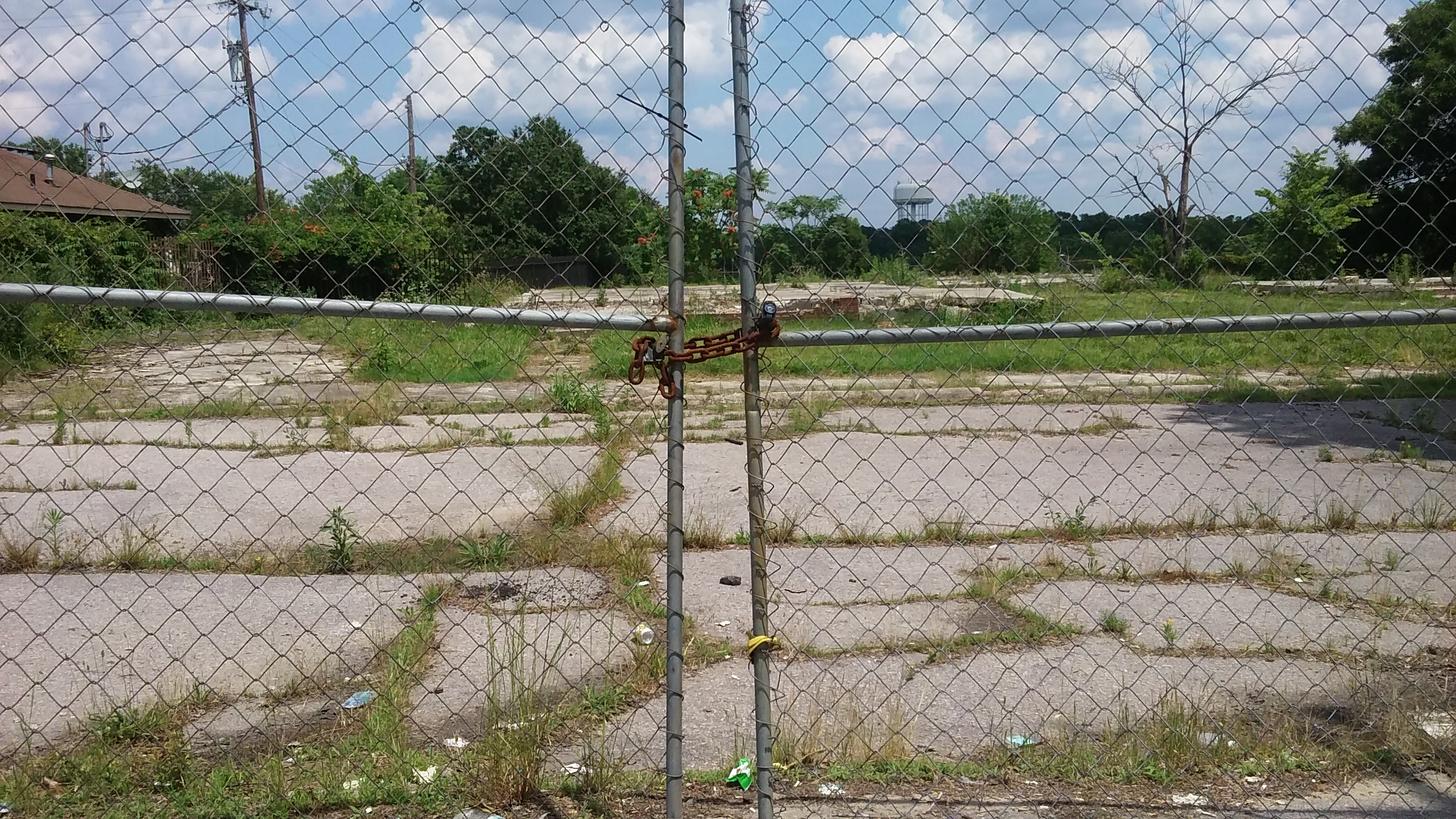 Figure 5 Hayti, site of former public housing